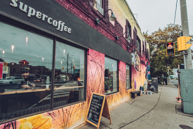 Photographer, photography, Toronto, portrait, portraits, business, headshot, corporate, creative, shoot, project, art, artist, mural, street art, city, urban, development, condo, construction, steps, initiative, public, supercoffee, coffee, Weston